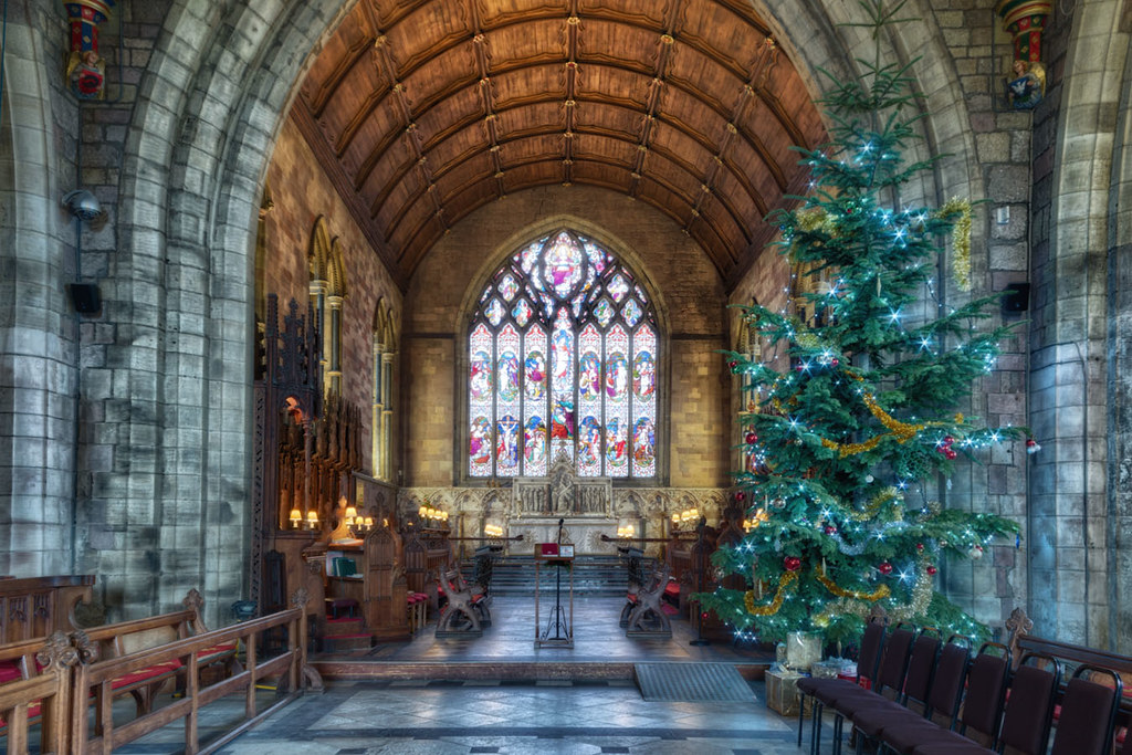 Cathedral Christmas Tree