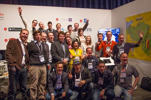 Belgian Delegation at LeWeb12