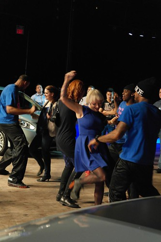Dance Floor at Ford Blue TO