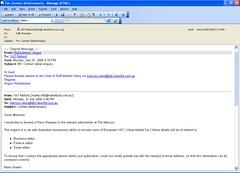 VAT Refund Email