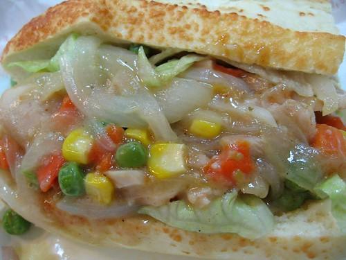 chicken sub, 潛水艇三明治