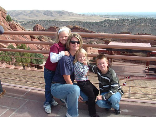 The Fam at Red Rocks