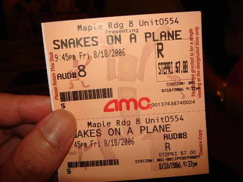 Snakes on a @#!&*-ing plane man!