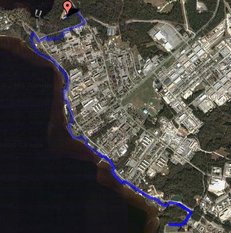 Bike Route - 8 miles RT