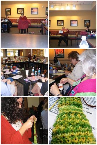 Merike Saarniit Knitting With Handpainted Yarns Workshop