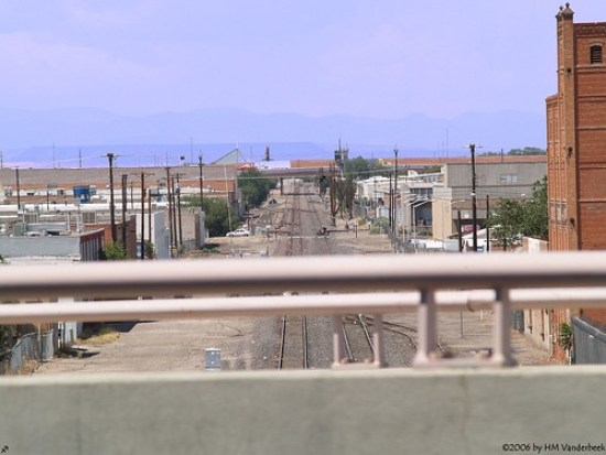 Albuquerque Train Tracks