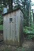 bathroom in the middle of no where
