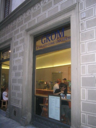 Grom in Florence
