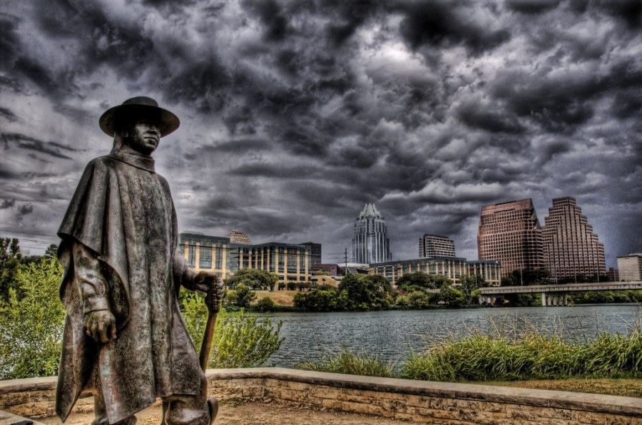 The Cowboy in the Storm