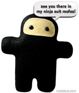ninja suit btard