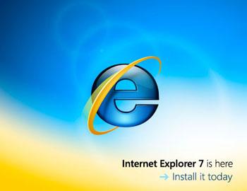 Internet Explorer 7 Launch