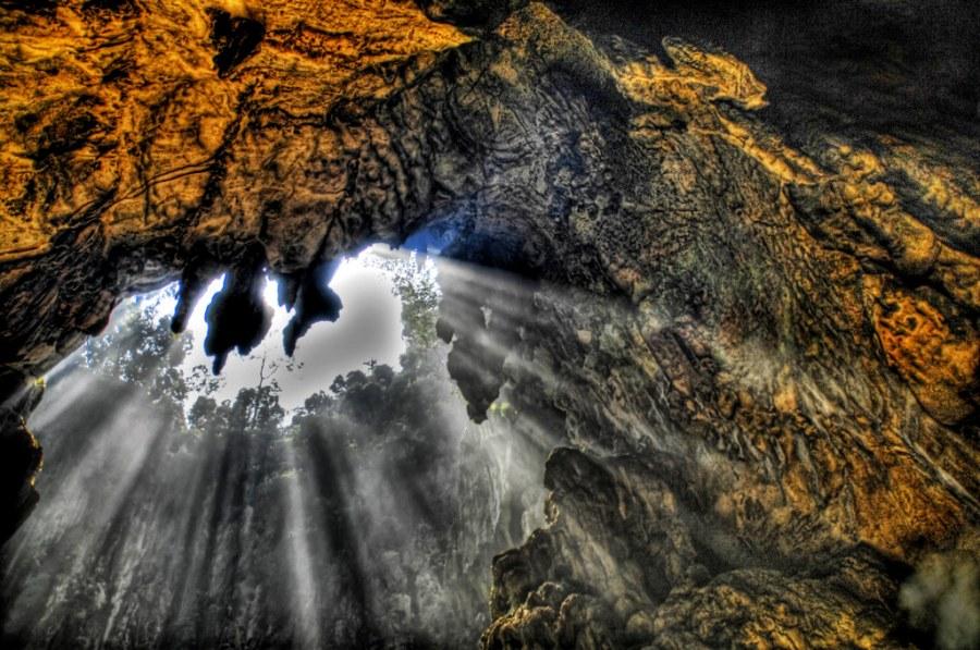 Spelunking in the Batu Caves