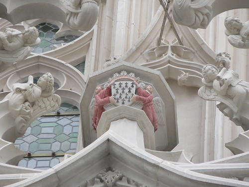 A detail of Nantes Cathedral