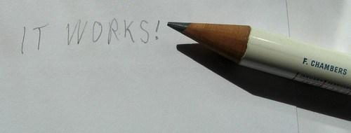 1953 Coronation Pencil - It Works!