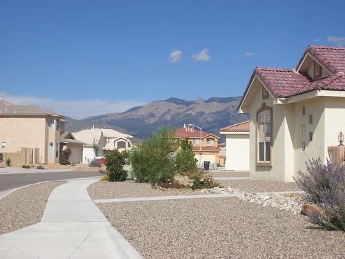 A pretty little Albuquerque Neighborhood