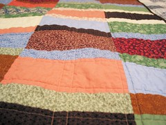 Lauren's quilt: completed (quilting)