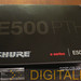 Shure E500 packaging