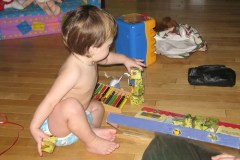 Puzzles make good building toys too
