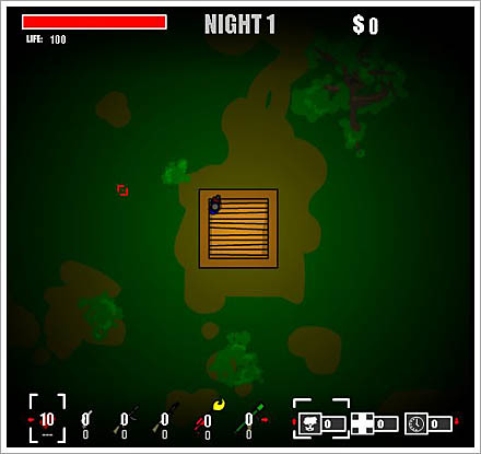 zombie horde game screenshot