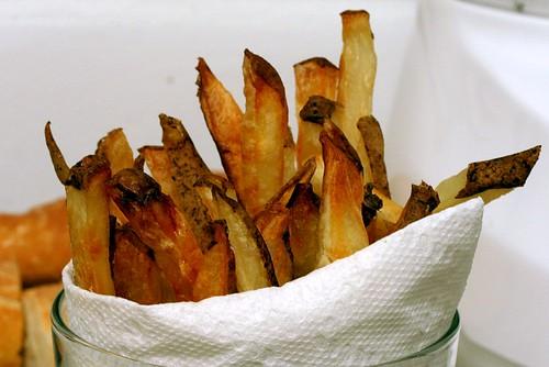 baked pommes frites