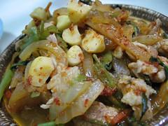 kimchi and pork