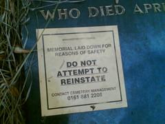 Do not reinstate