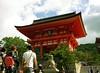Gate of Kiyomizu temple
