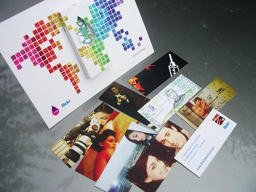 tarxetas de visita feitas por Moo