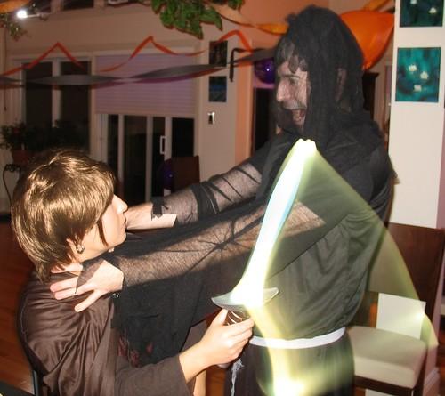 Frodo vs Ringwraith