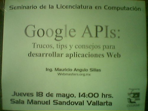 google uam poster