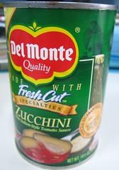 del monte canned zucchini