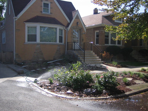 Front yard after landscaping