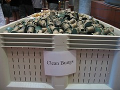 Clean bungs!