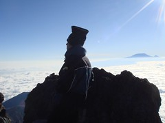 top of Mt.Meru