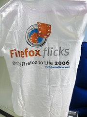 firefox flicks t-shirt