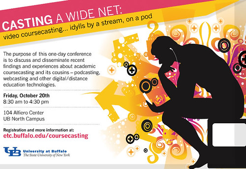 Casting A Wide Net: Video coursecasting conference @ UB