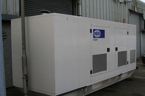 Successful CIX diesel generator power test