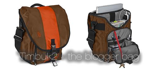 Timbuk2: The Blogger