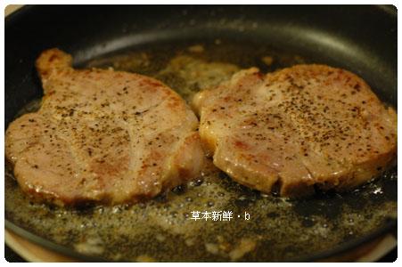 香草豬沙朗排