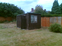 I want a shed