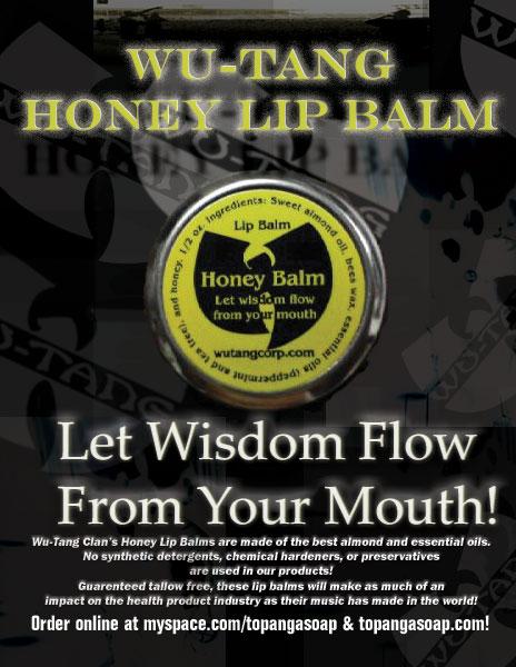 Wu Tang Honey Lip Balm