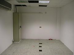 A még üres terem Ajkán