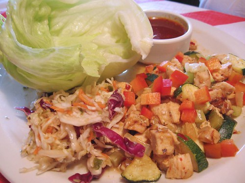 chicken salad from T.G.I. Friday's