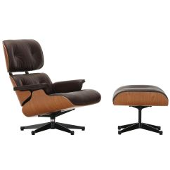 Kohl Lounge Chair Met Voetenbank Webbing For Lawn Chairs Vitra Eames Ottoman Fauteuil Nieuwe