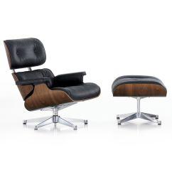 Kohl Lounge Chair Met Voetenbank Gym Bike Vitra Eames Ottoman Fauteuil Nieuwe