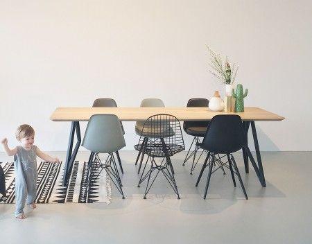 Studio HENK Butterfly tafel 240x90  FLINDERS verzendt gratis