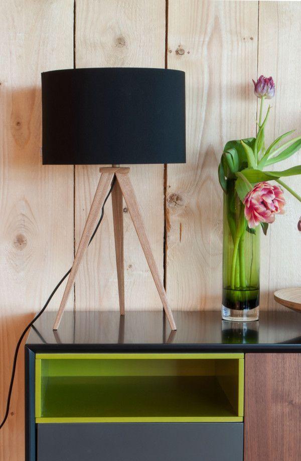 Zuiver Tripod Wood tafellamp  FLINDERS verzendt gratis