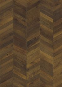 Kahrs Oak Chevron Dark Brown Engineered Wood Flooring