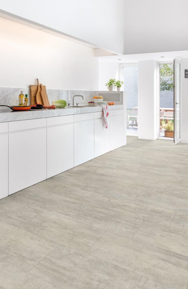 Quickstep Livyn Ambient Light Grey Travertine AMCL40047