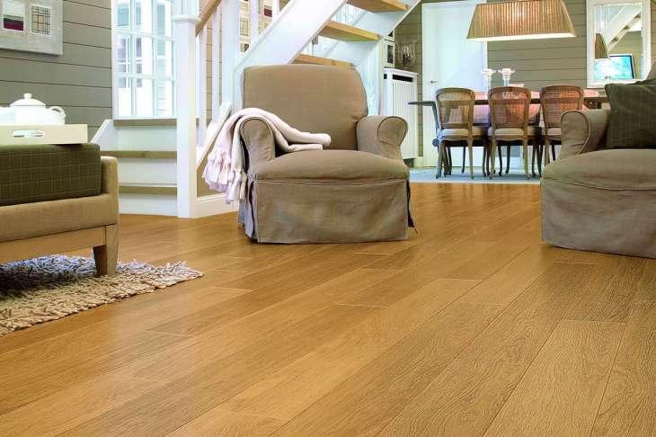 Quickstep Perspective Natural Varnished Oak. Review stars